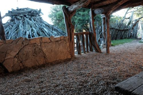 Indoor structure in the sheepfold