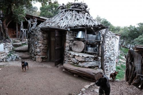 Typical sheepfold hut