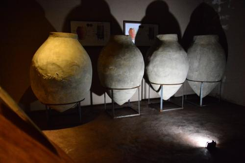 Amphorae used for wine