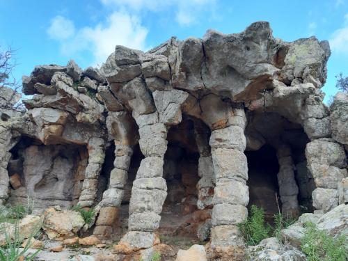 Particular rocks in Villaputzu