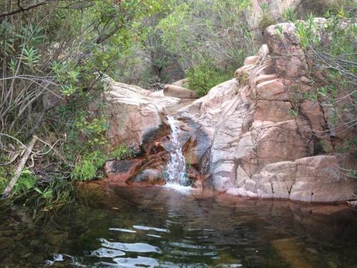 Corso d'acqua nelle Piscine Naturali del Monte Ferru
