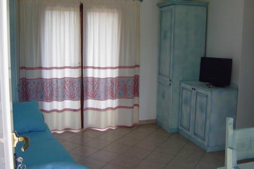 Salón interior de una Residencia en Arbatax