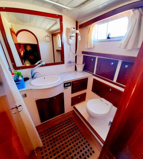 Bathroom motor boat