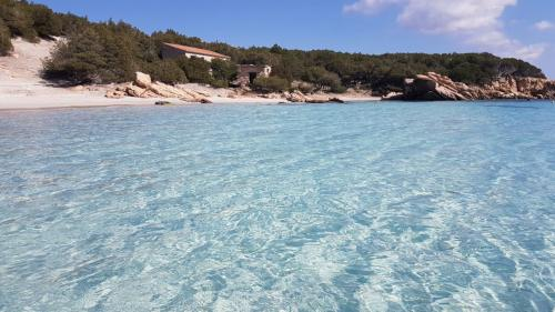 Crystal clear sea in which to swim and snorkel in the La Maddalena Archipelago