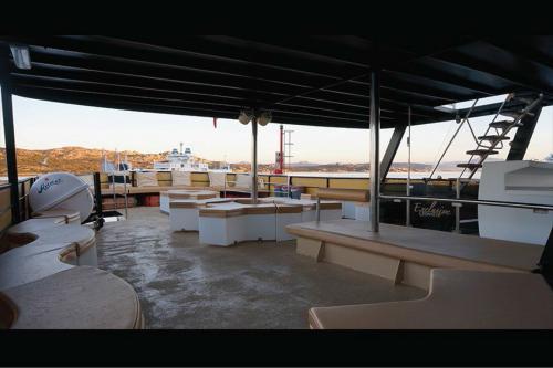Standard Deck Unterkunft an Bord eines Motorschiffs