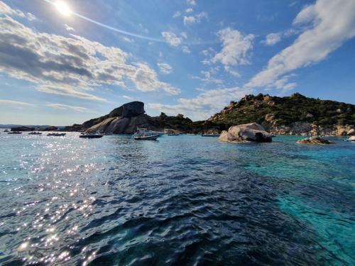 Islands and rocks of La Maddalena Archipel