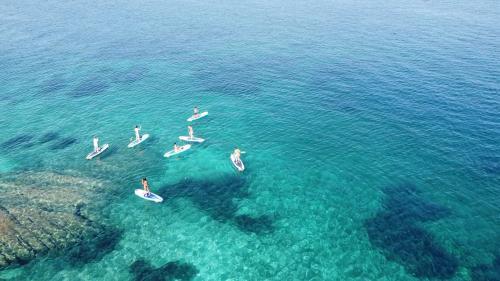 Escursione in SUP nella costa di San Teodoro