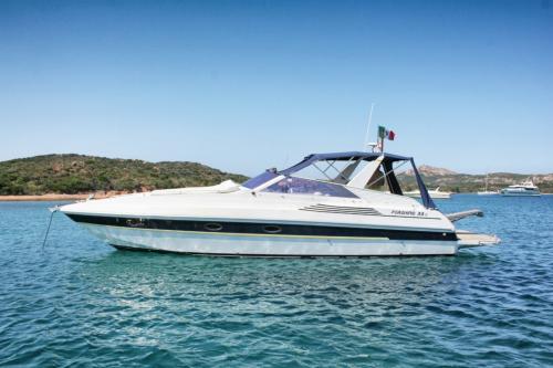 Boat sailing in the Archipelago of La Maddalena