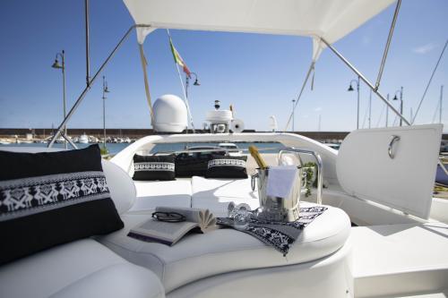 Cuscineria Yacht di lusso Poltu Quatu